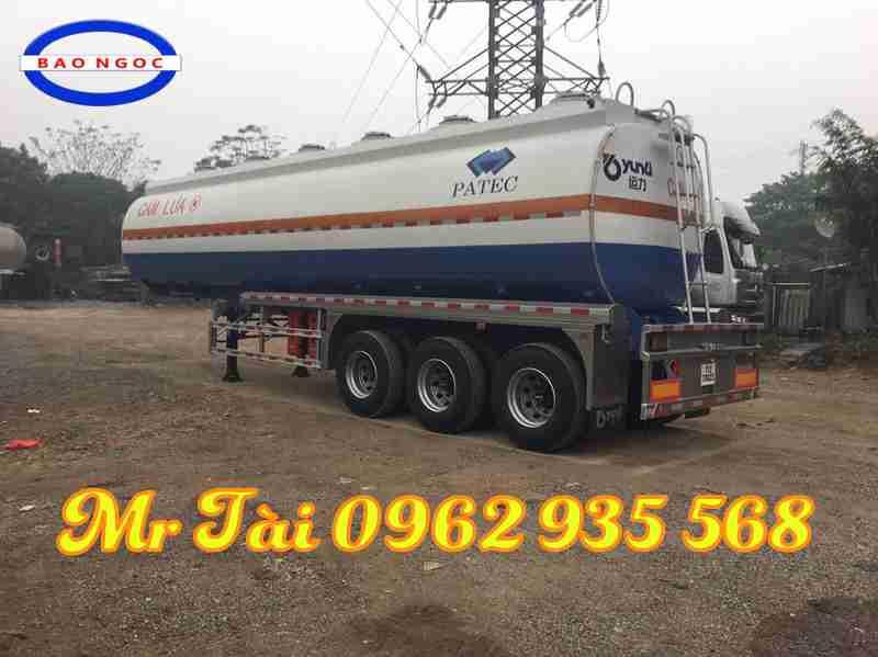 Sơ mi rơ mooc chở xăng dầu 40 m3 nhãn hiệu Junli