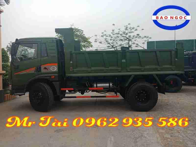 Xe tải ben Trường giang trọng tải 8,75 tấn Cabin Faw