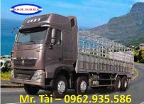 Xe tải thùng 4 chân howo TMT- Sinotruck tải trọng 18 tấn