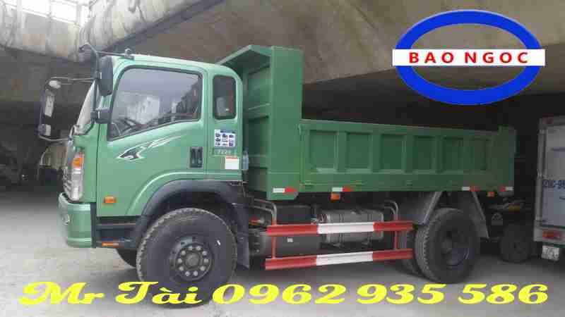 xe ben howo 9,4 tấn máy 160 hp