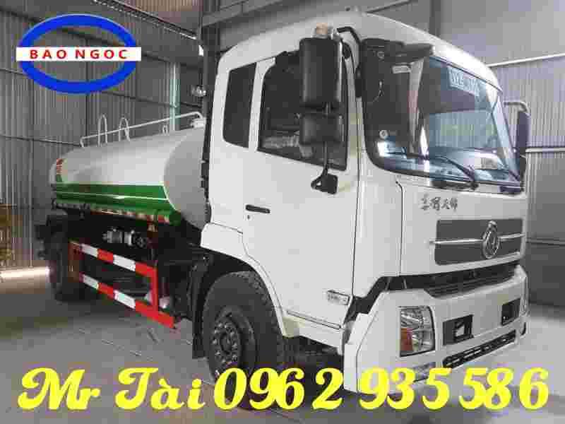 xe téc chở nước dongfeng 9 m3 nhập khẩu