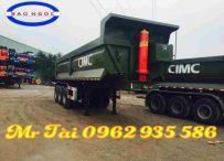 Bán mooc ben Cimc 2018 tải trọng 28 tấn