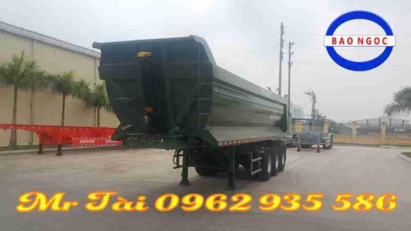 Sơ mi rơ mooc ben doosung hàn quốc tải trọng 29 tấn