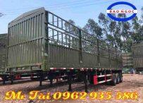 Sơ mi rơ mooc lồng Cimc 12,4 m tải trọng 31,5 tấn