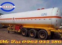 Sơ mi rơ mooc bồn chở khí gas LPG 48 khối