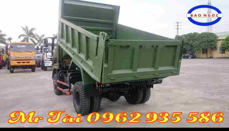Xe tải ben Trường Giang 5,7 tấn 1 cầu giá tốt