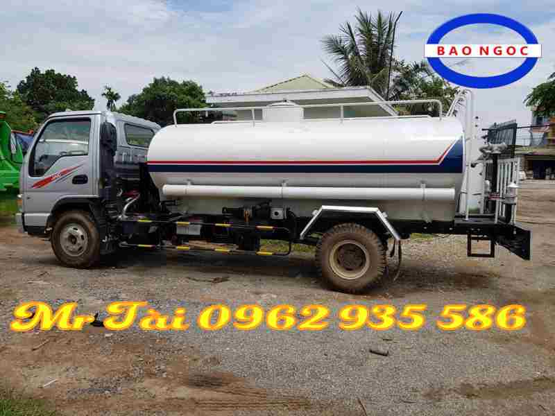 Xe phun nước rửa đường Jac 7 khối mã hiệu xe cở sở HFC 1061K3