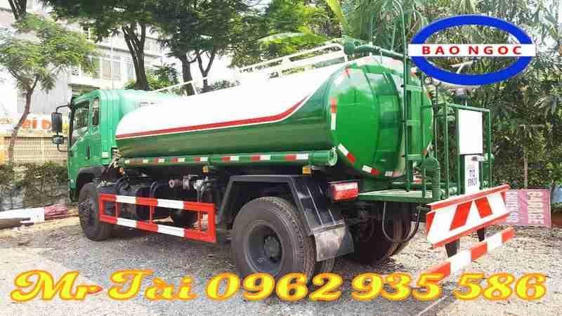xe chở nước howo 9 m3