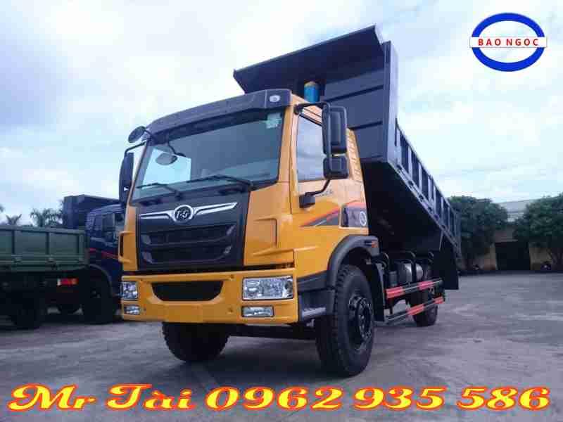 Xe tải ben Trường Giang 7,7 tấn động cơ Faw