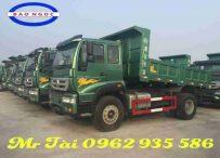 Bán xe tải ben howo 8 tấn nhập khẩu máy 190 hp