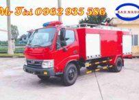 Xe chữa cháy hino WU342L chứa 2,2 m3 nước , 0,3 m3 bọt