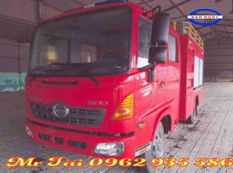 Xe chữa cháy cứu hỏa hino FC 4 khối