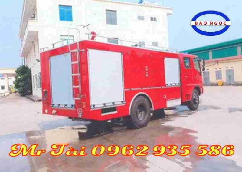 Xe chữa cháy cứu hỏa hino FG 8JJSB 4 khối