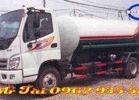 Xe ô tô xi téc phun nước 8 khối thaco ollin 700C