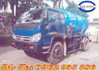 Xe hút chất thải 6,3 m3 thaco Forland FD9000