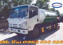 Xe phun nước rửa đường tưới cây 8 m3 isuzu vĩnh phát