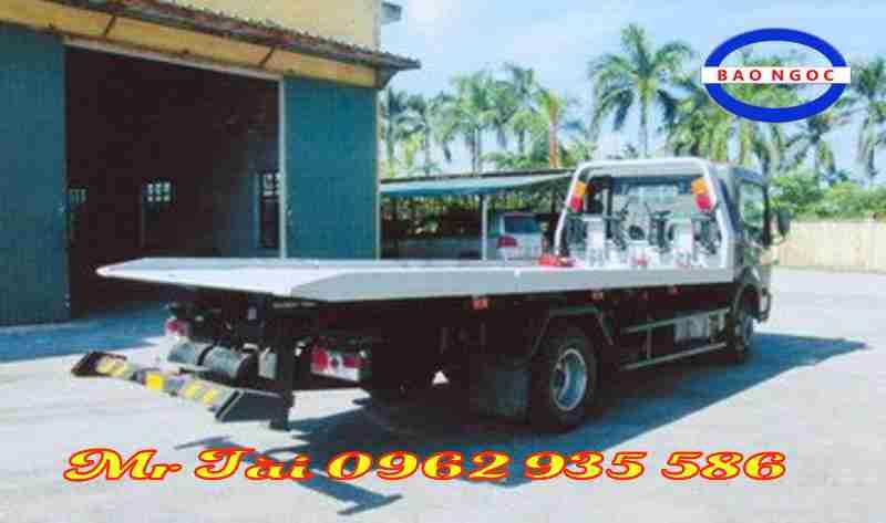 Xe cứu hộ giao thông sàn trượt Veam VT651