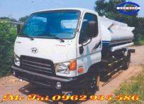 Xe phun nước rửa đường tưới cây 7 m3 hyundai hd 800