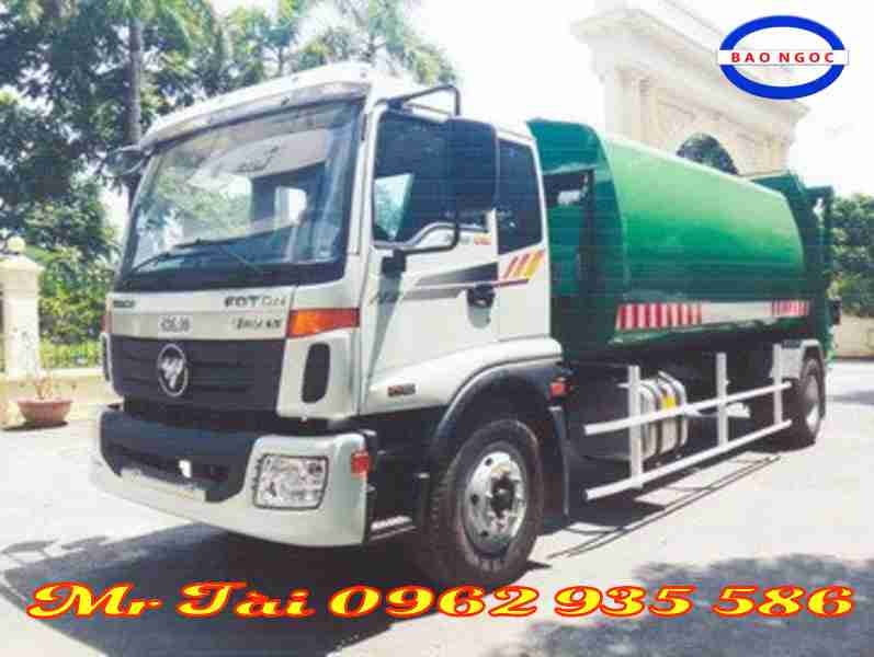Xe cuốn ép rác 13 khối Thaco Auman C160