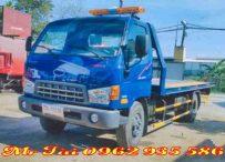 Xe cứu hộ giao thông sàn trượt hyundai hd 800