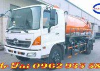 Xe phun nước rửa đường 6,5 m3 Hino