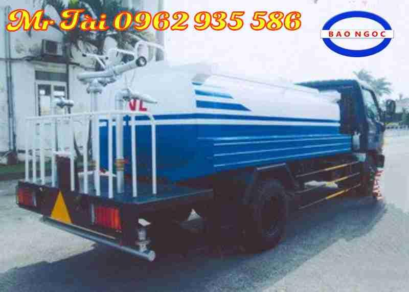 Xe phun nước rửa đường tưới cây 5,6 m3 hd99