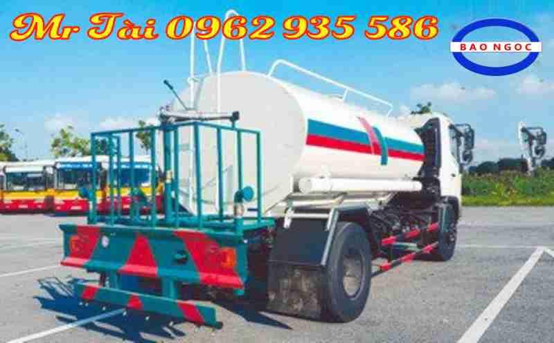 Xe phun nước rửa đường 8,5 m3 Hino FG