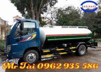 Xe phun nước rửa đường 8 m3 thaco ollin 700C