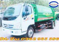 Xe ô tô chở rác ( cuốn ép rác) 12 khối ollin 700C