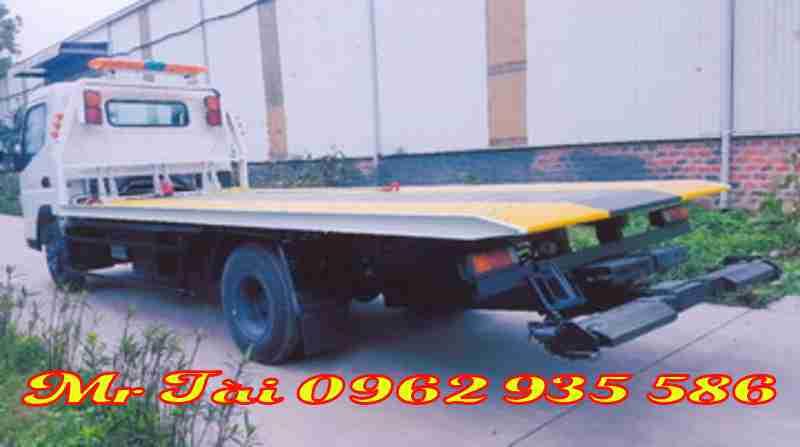 Xe cứu hộ giao thông sàn trượt fuso CANTER