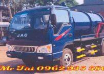 Xe hút chất thải 4 m3 nhãn hiệu JAC