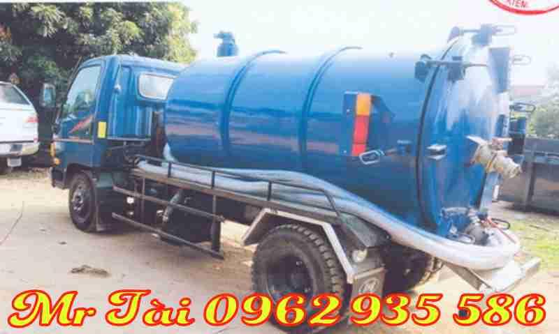 Xe hút chất thải hd500 4,5 m3
