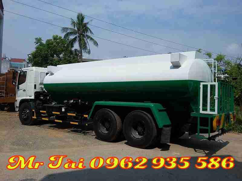 Xe phun nước rửa đường tưới cây Hino FL 15 m3