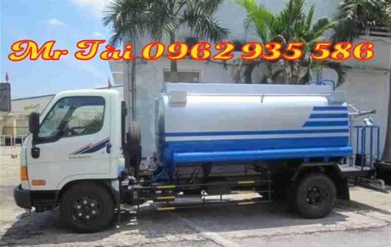 Xe phun nước rửa đường tưới cây 6m 3 HD72.