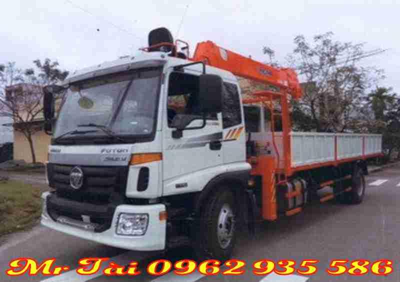 Xe tải thaco auman C160 gắn cẩu kanglim ks1056