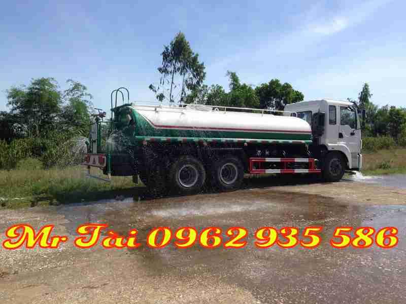 Xe phun nước rửa đường 12 m3 dongfeng euro 5