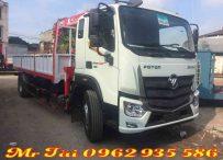 Xe tải thaco C160 gắn cẩu unic 3 tấn 4 đốt 2018,2019