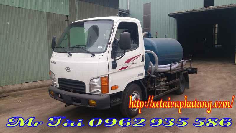 Xe hút chất thải 2 m3 hyundai