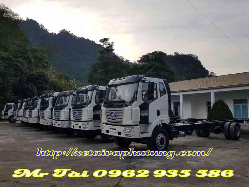 Xe tải Faw 8 tấn thùng siêu dài 9M8