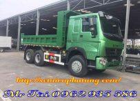 Xe tải ben howo 3 chân lắp ráp khí thải euro 5