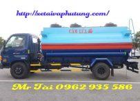 Xe bồn chở xăng dầu 9 khối hyundai hd 800