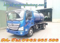 Xe Hút Chất Thải 4 Khối Thaco Foton M4 600