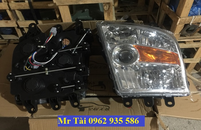 Giá Bán đèn pha xe tải thaco foton auman